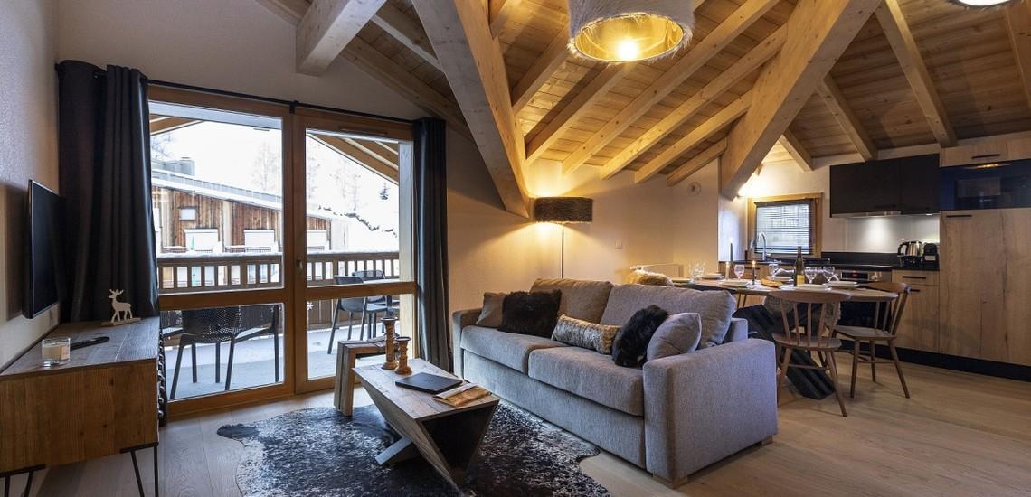 Unterkünfte • Ferienwohnung Neige et Soleil • Les 2 Alpes / Deux Alpes •  Beisp. Ferienwohnung