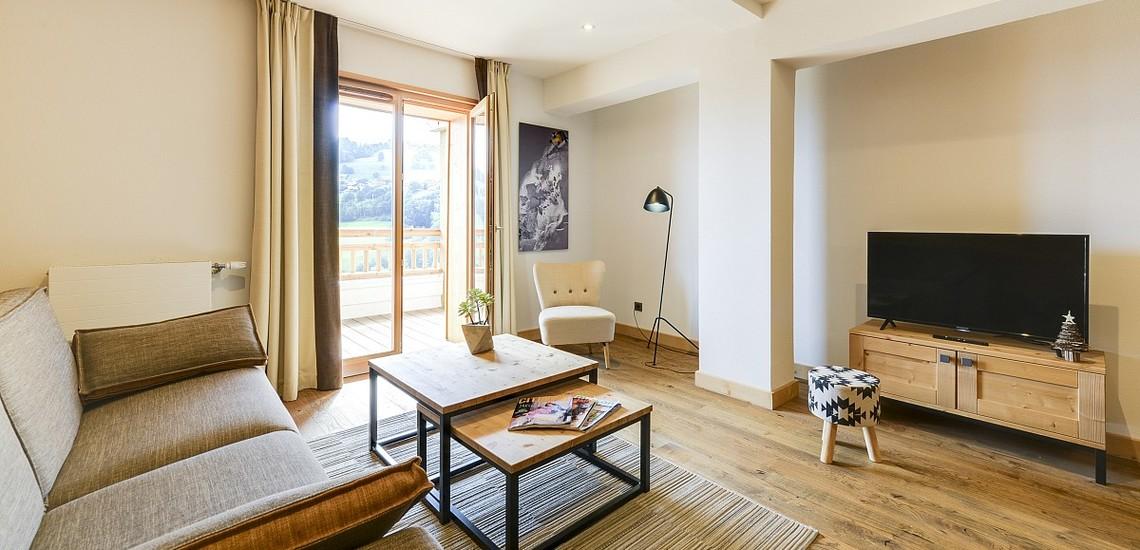 Ferienwohnungen & Chalets · Les Fermes du Mont Blanc · Combloux · Ferienwohnung