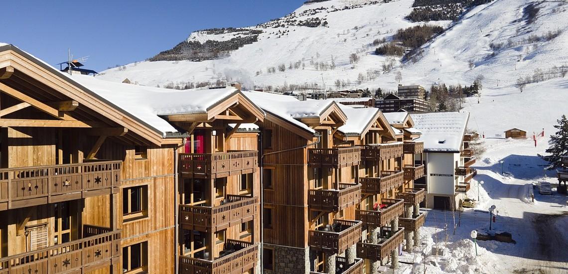 Unterkünfte • Ferienwohnung Neige et Soleil • Les 2 Alpes / Deux Alpes •  Residenz, Panorama