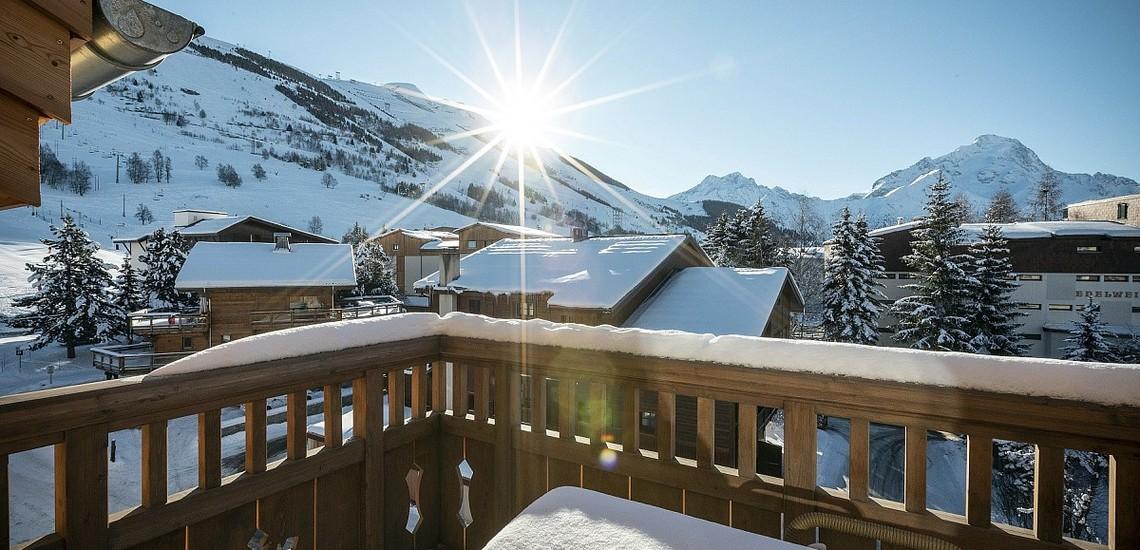 Unterkünfte • Ferienwohnung Neige et Soleil • Les 2 Alpes / Deux Alpes •  Panorama