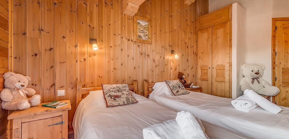 Chalet Gypaete - Ferienwohnungen in Tignes - 7-Zi.-Whg.14 - Schlafzimmer