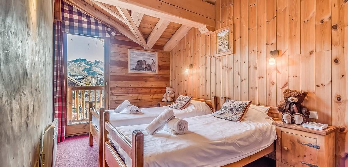 Chalet Gypaete - Ferienwohnungen in Tignes - 6-Zi.-Whg.10 - Schlafzimmer
