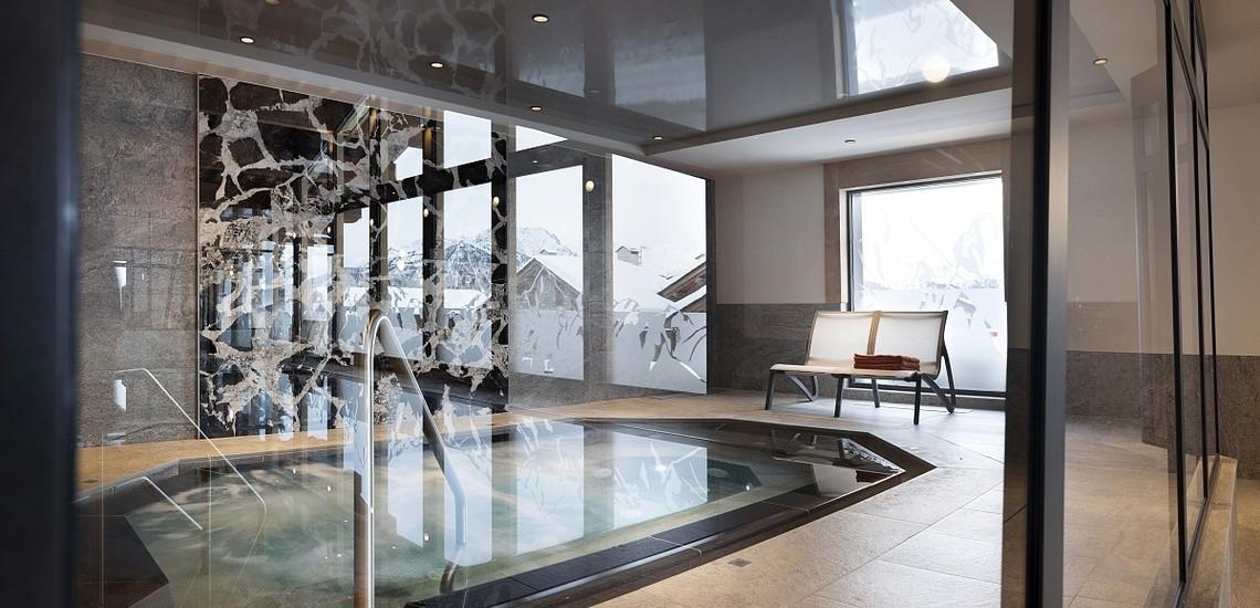 Alpen Lodge Ferienwohnungen in La Rosiere - Wellness