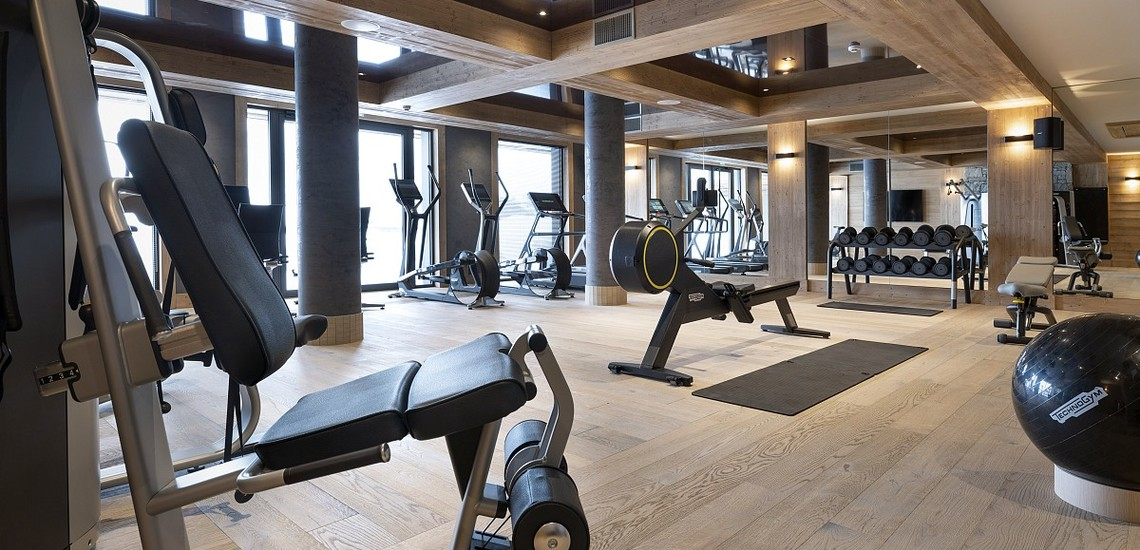 Alpen Lodge Ferienwohnungen in La Rosiere - Fitness