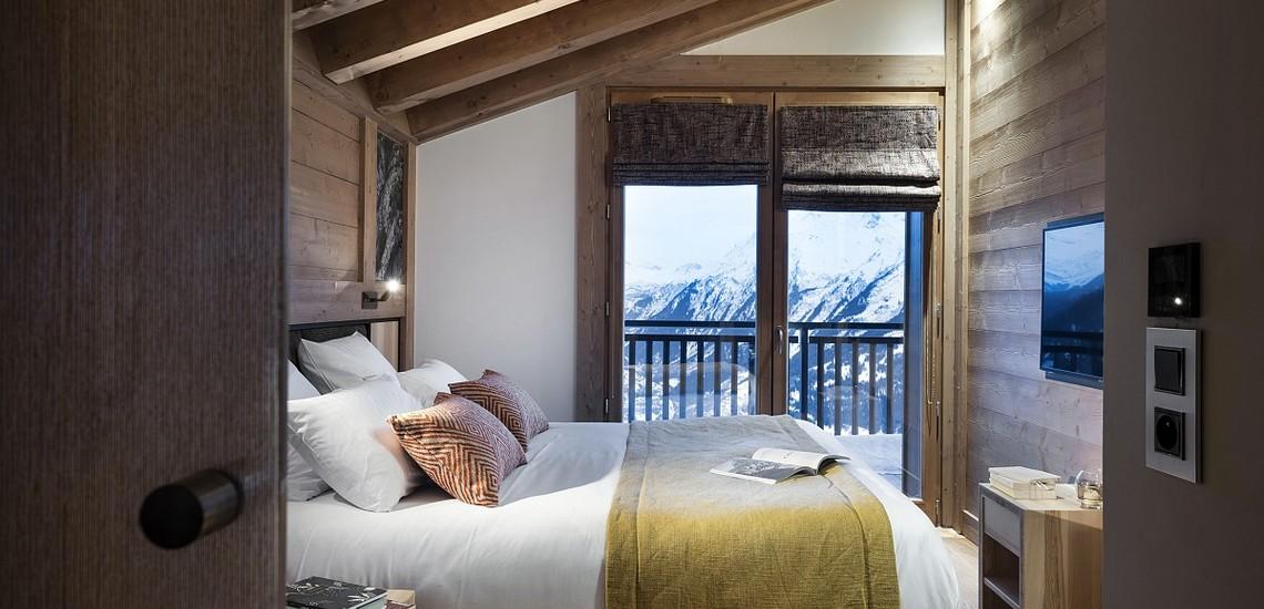 Alpen Lodge Ferienwohnungen in La Rosiere - Schlafen