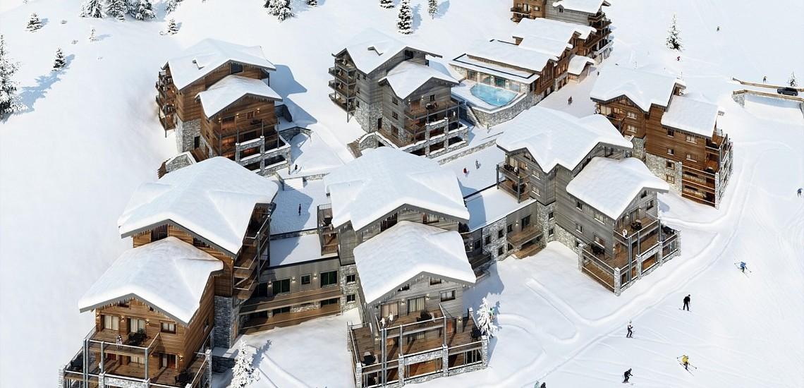 Ferienwohnungen La Plagne: Residenz White Pearl, Residenz