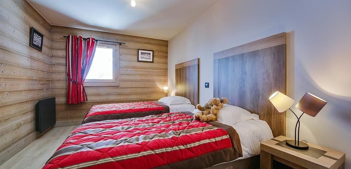Ferienwohnungen La Plagne: Residenz White Pearl, Schlafzimmer