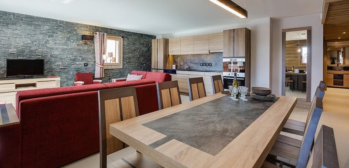Ferienwohnungen La Plagne: Residenz White Pearl, Essen, Kochen