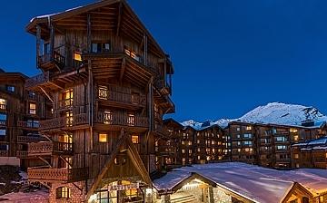 Chalet Altitude -  Val Thorens - Ferienwohnungen im Skigebiet Les 3 Vallees