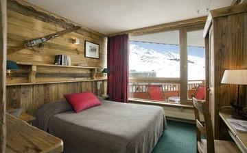 Hotel Les 3 Vallees - Val Thorens · Das 4-Sterne-Hotel direkt an den Pisten von Val Thorens