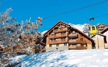 Unterkünfte in Alpe d'Huez ∙ Ferienwohnungen La Cascade – Les Epinettes ∙ Vaujany (1250 m) ∙ Skigebiet Alpe d'Huez ∙ Frankreich ∙ Skifahren in den französischen Alpen. Alpe d'Huez / Ski Frankreich.