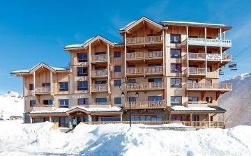 Ferienwohnung Front de Neige ∙ La Plagne Village (2050 m) ∙ Skigebiet Paradiski - La Plagne ∙ Frankreich