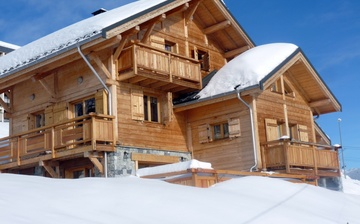 Chalet Le Jardin d'Hiver · La Toussuire · Chalets im Skigebiet Les Sybelles