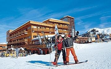Ferienwohnung Le Pelvoux ∙ La Plagne Centre (1970 m) ∙ Skigebiet Paradiski - La Plagne ∙ Frankreich ∙ Skifahren in den französischen Alpen. Ferienwohnungen in der Residenz Pelvoux