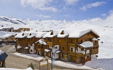Residenz Les Montagnettes - Lombarde in Val Thorens, Trois Vallees, Frankreich.