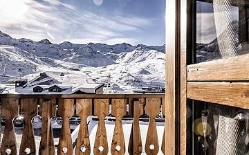 Les Montagnettes Soleil - Unterkünfte, Ferienwohnungen in  Val Thorens, Skiurlaub in Trois Vallees, Frankreich