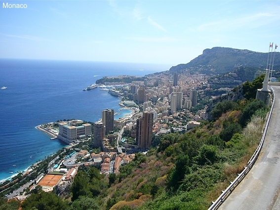 Monaco an der Cote d'Azur - Sommerurlaub in Südfrankreich