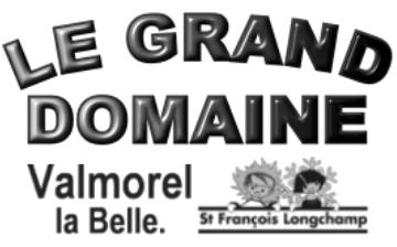 VALMOREL & ST. FRANCOIS LONGCHAMP - Skigebiet Le Grand Domaine