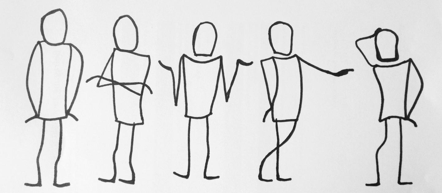 Körperhaltung mann beim flirten