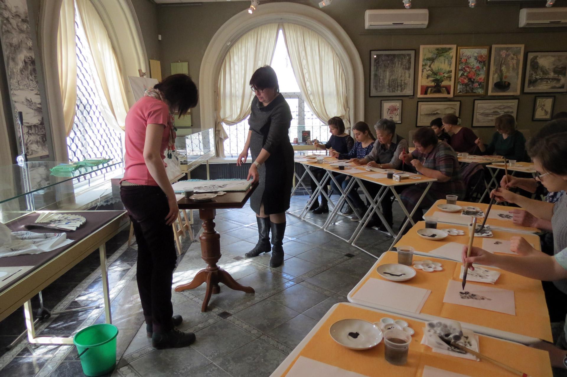 Мастер-класс в Егорьевске