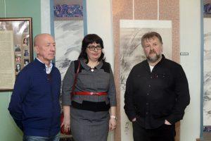 Выставка Школы японской живописи Ирины Левашевой в галерее Федеральной таможенной службы
