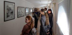 Ирина Левашева. Выставка «История цвета сакуры» в Эрмитаже Выборга