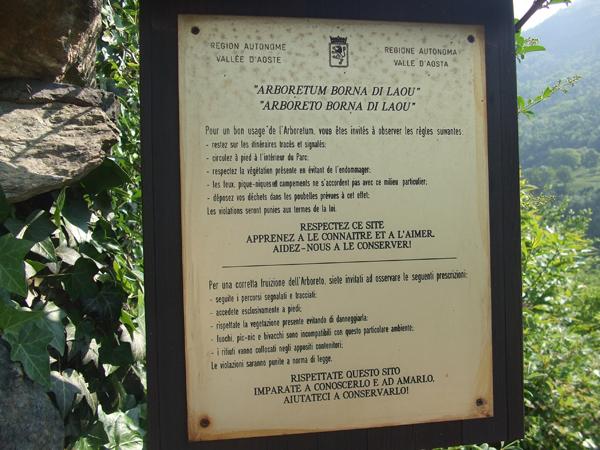 Arboretum Verrès