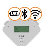 V hub bluetooth wifi