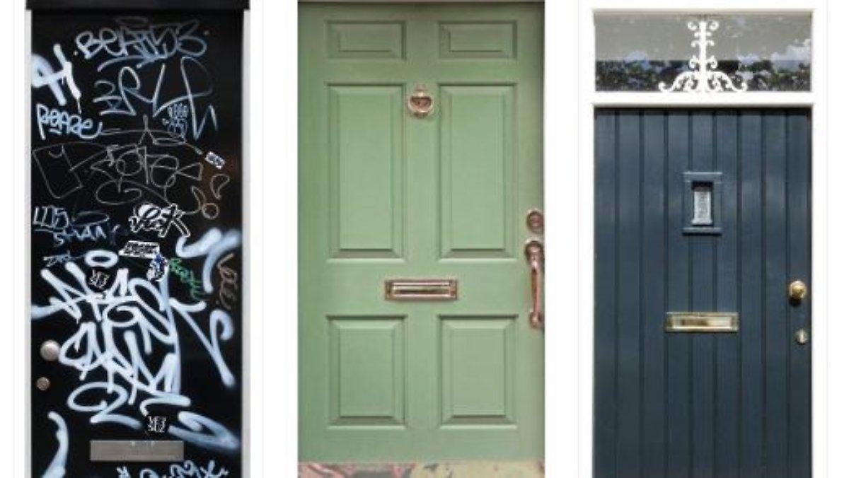 Beklebte Türen helfen Demenzkranken