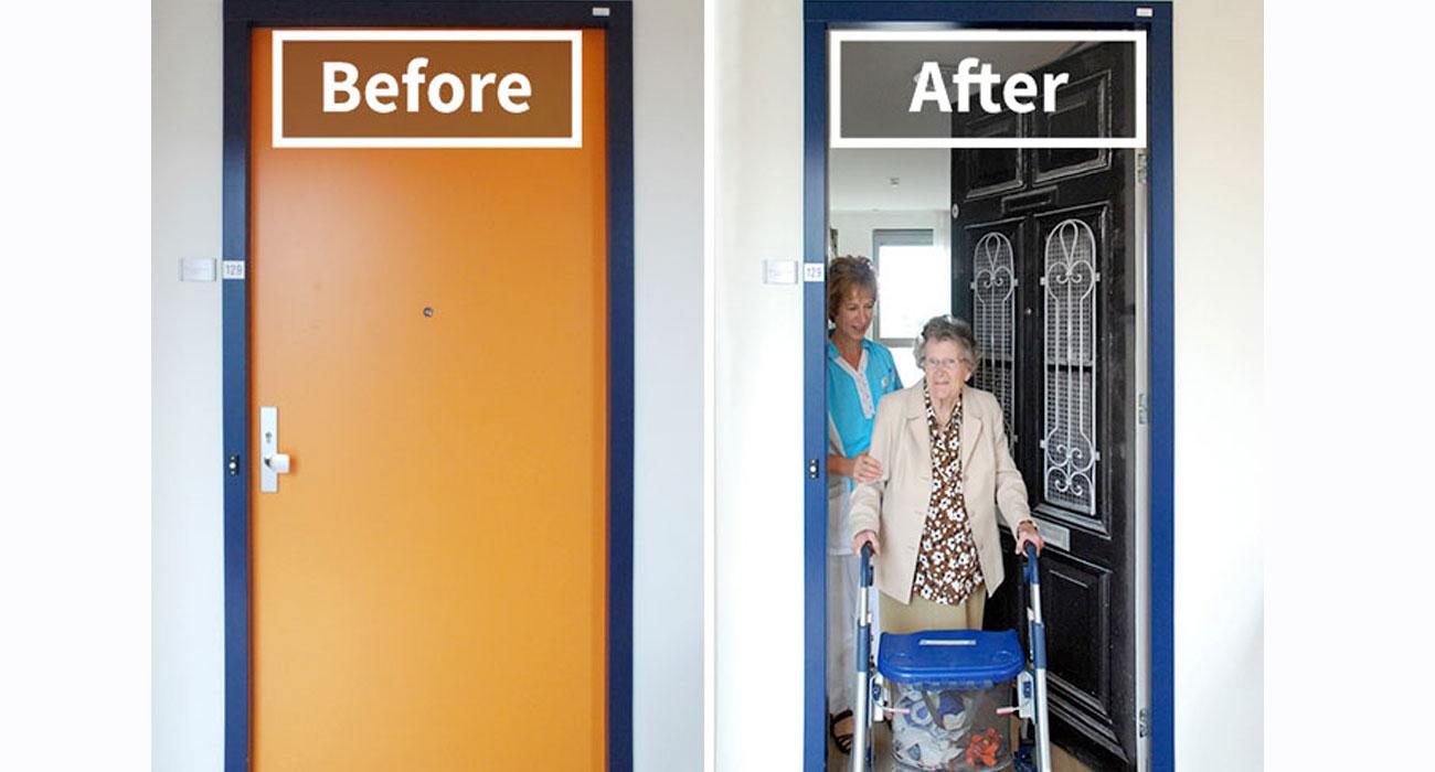 True Doors, le porte adesive per aiutare i pazienti affetti da demenza