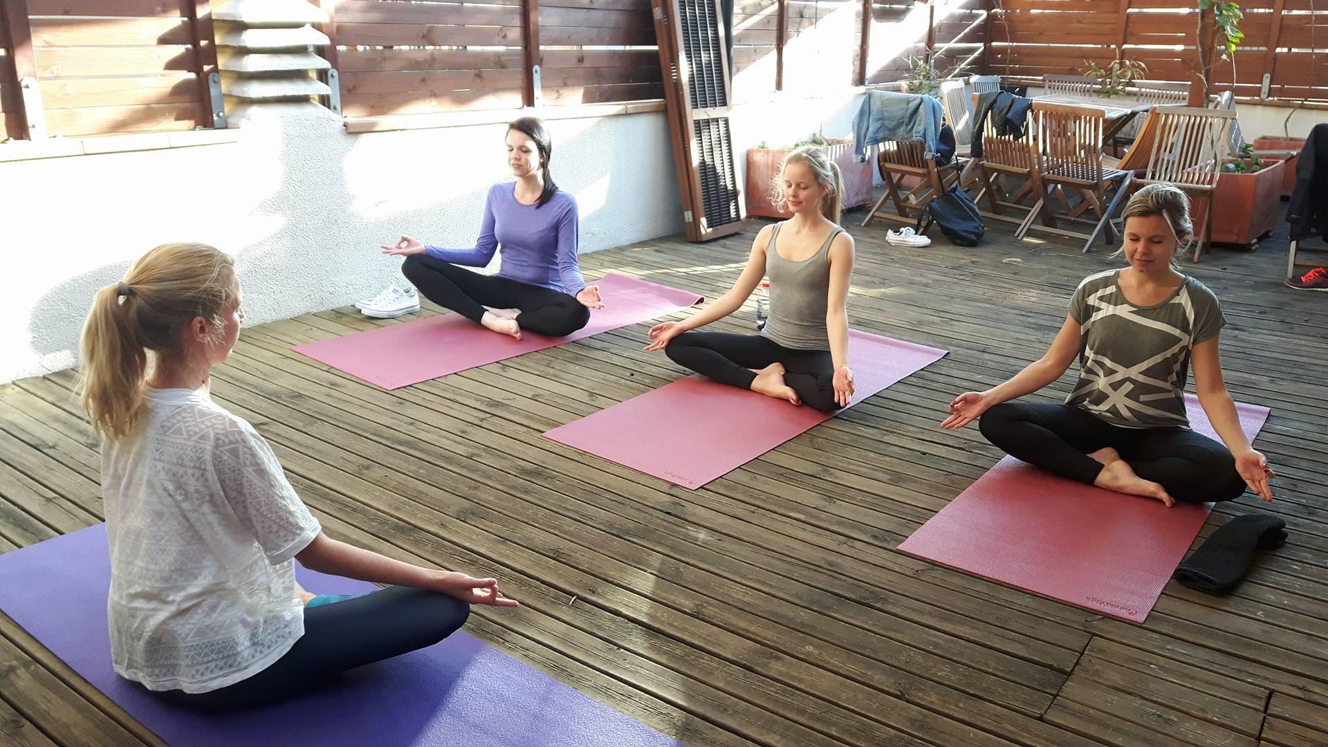 Yoga En La Terraza
