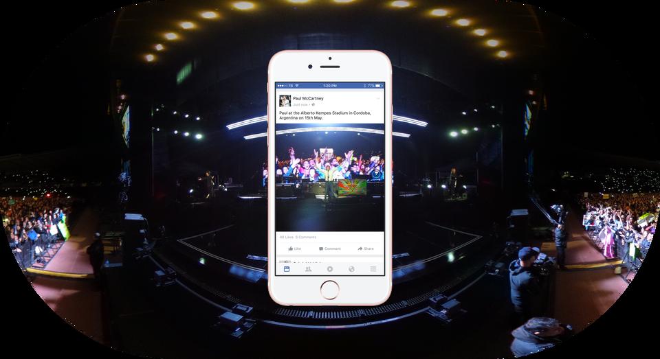 3c31194010be Og nå som Facebook endelig har fulgt opp støtten for 360-videoer med  interaktiv visning av 360-bilder i feeden