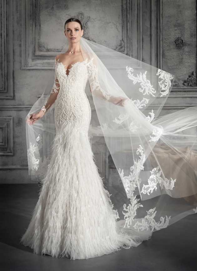 Bruidsjurken trends Demetrios