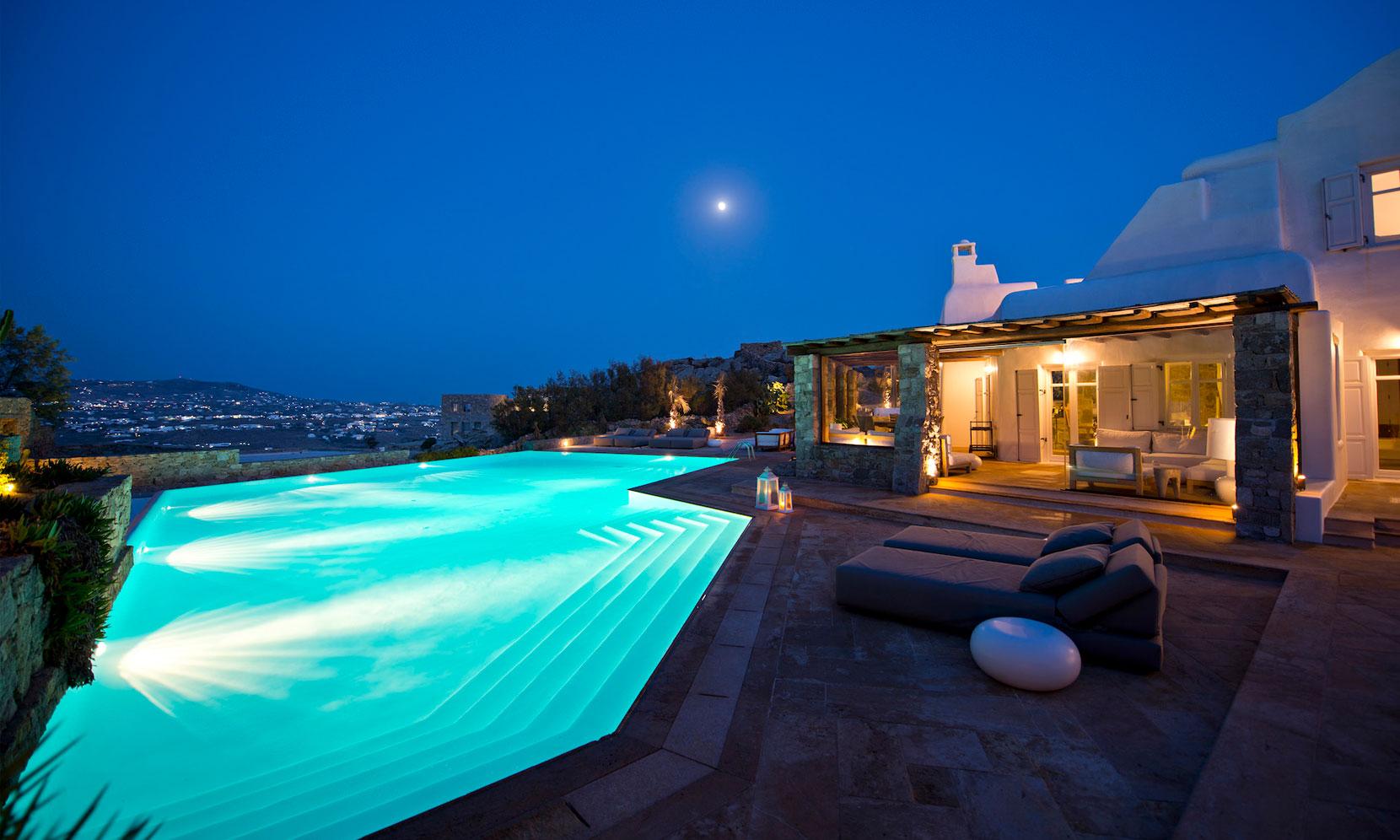 Mykonos Villa Orion jumbotron image