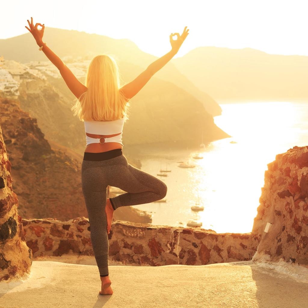 Santorini Private Yoga Experience