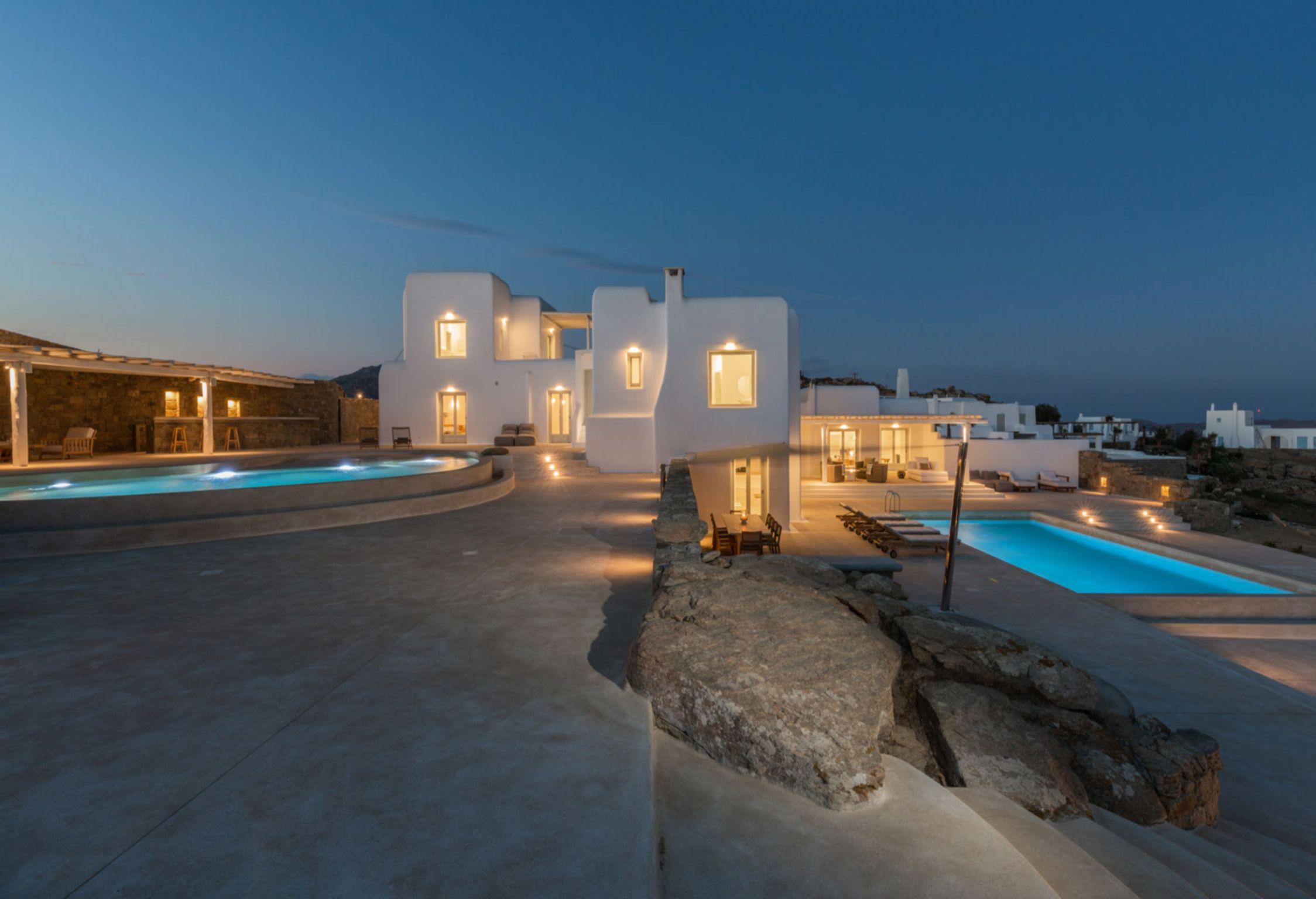 Mykonos Villa Sunshine jumbotron image