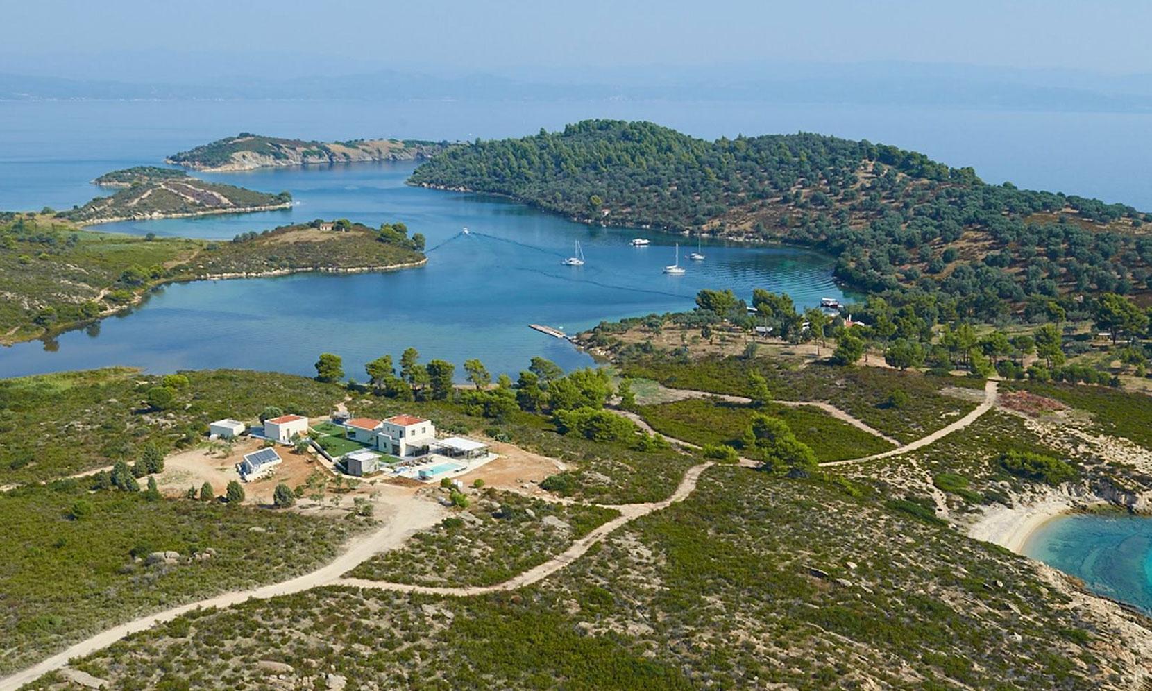 Halkidiki Villa Treasure jumbotron image