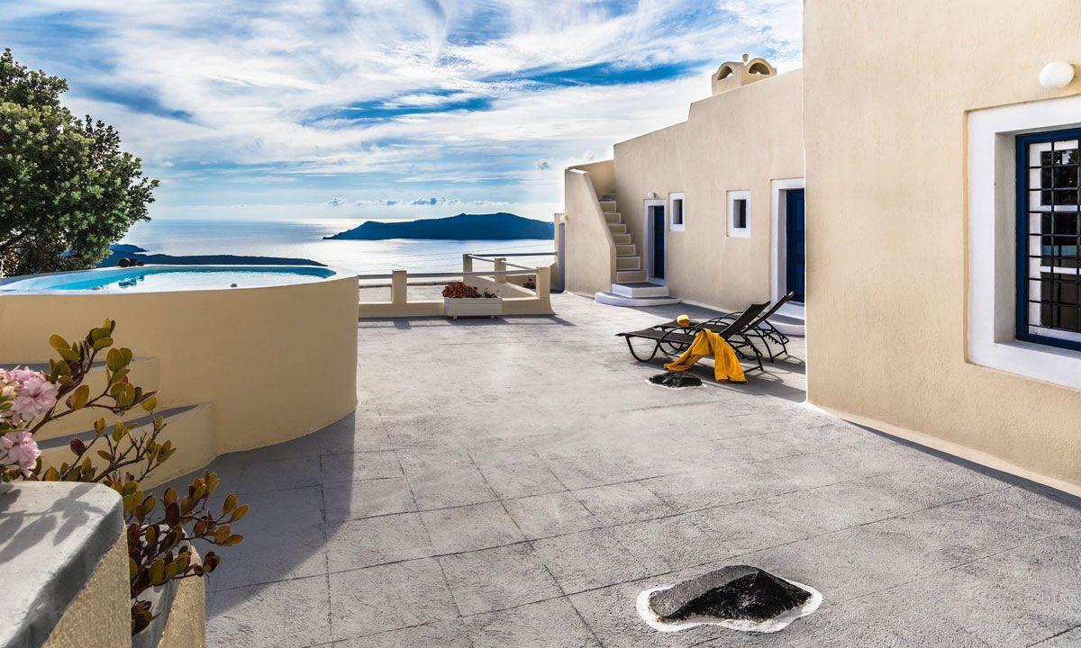 Santorini Villa Leto jumbotron image