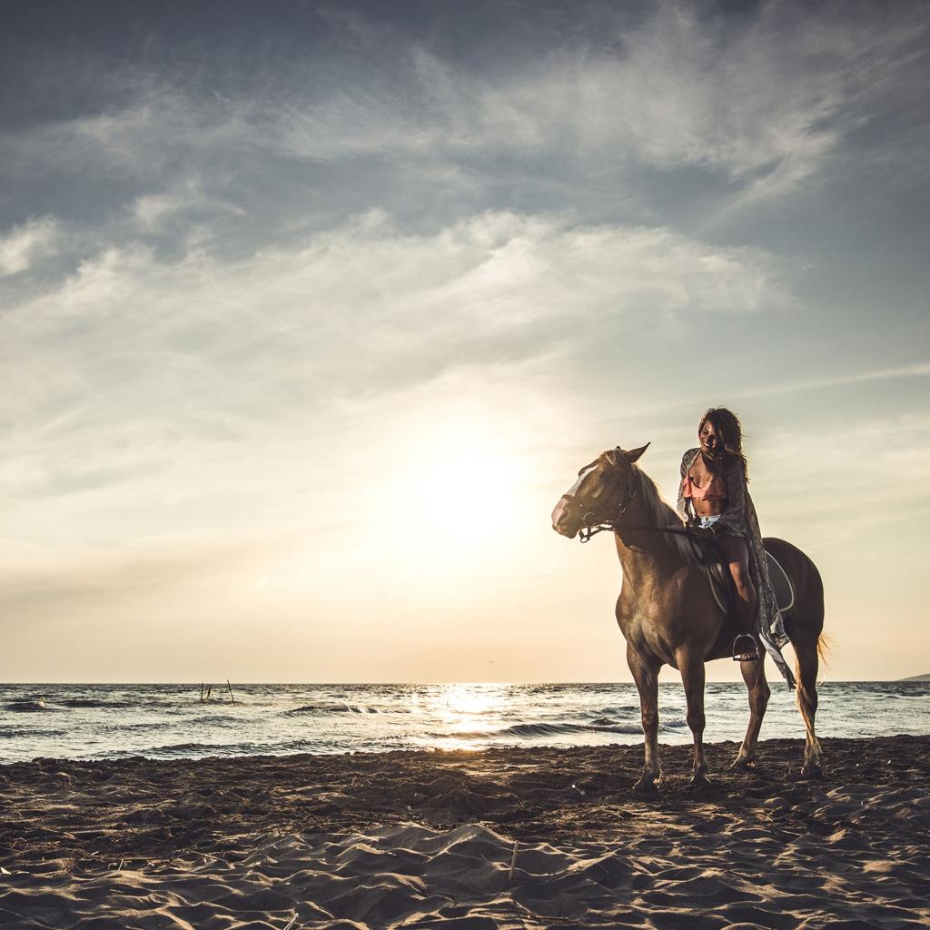 Santorini Private Horse Riding Experience