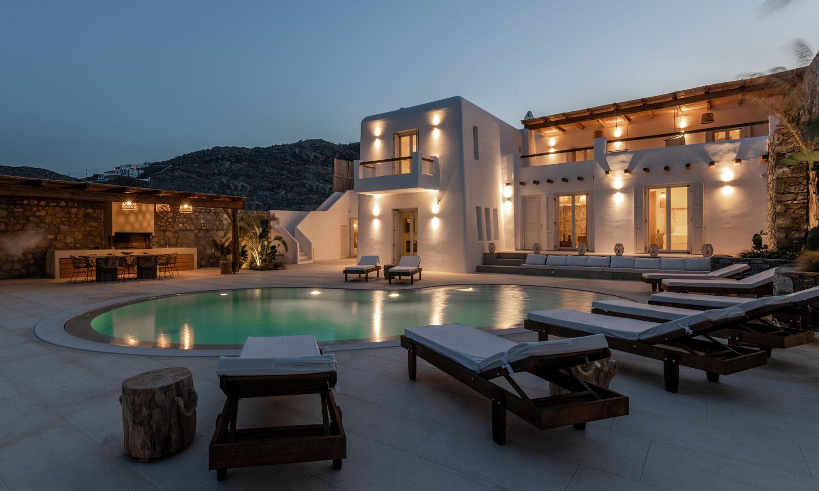 Mykonos Villa Brilene jumbotron image