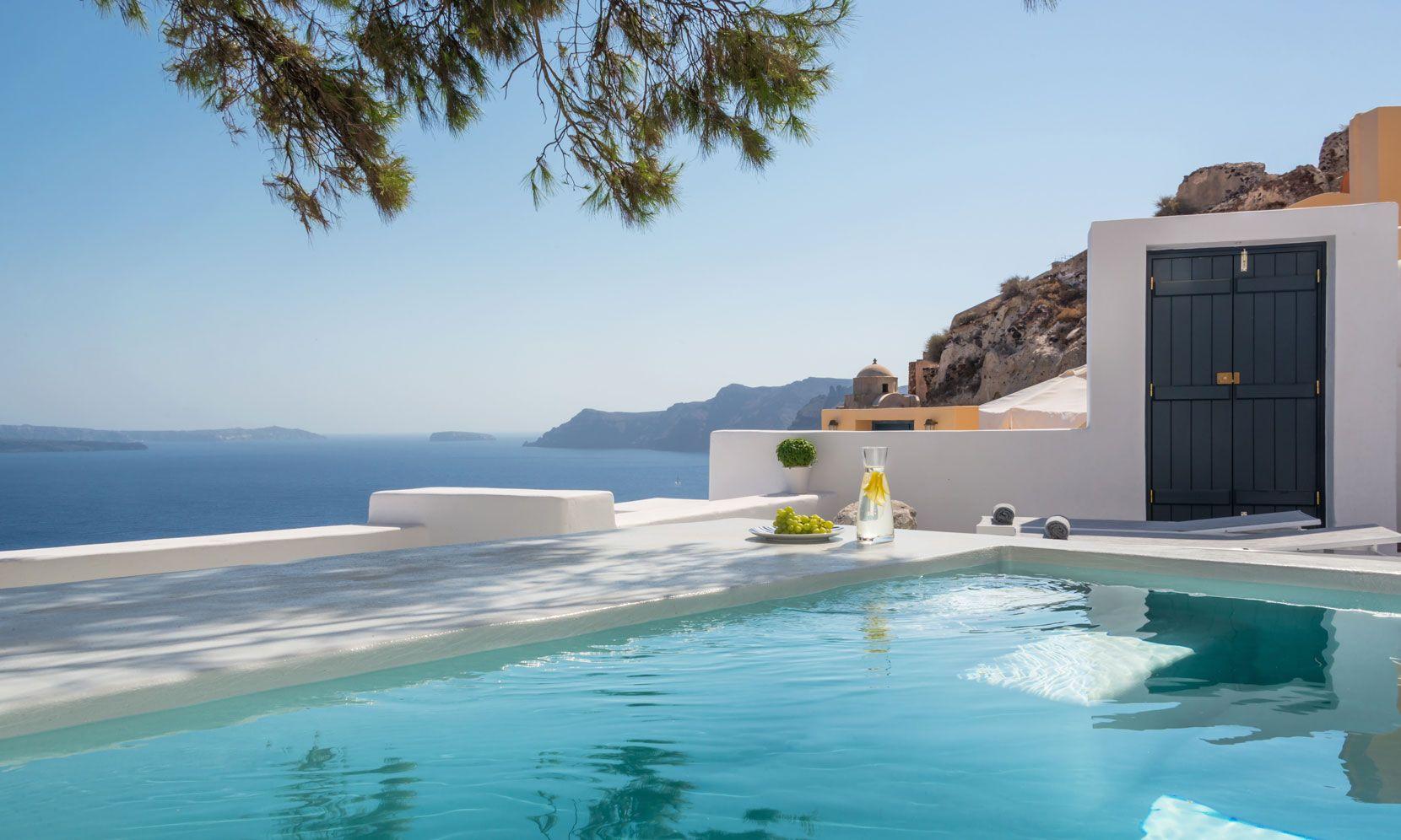 Santorini Villa Palma jumbotron image