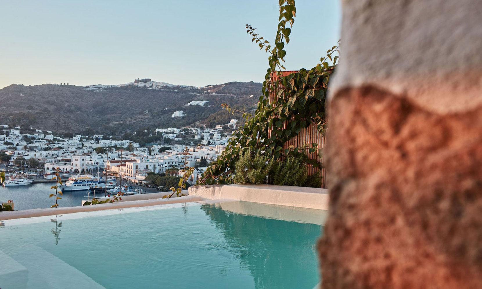 Patmos Villa Marble jumbotron image