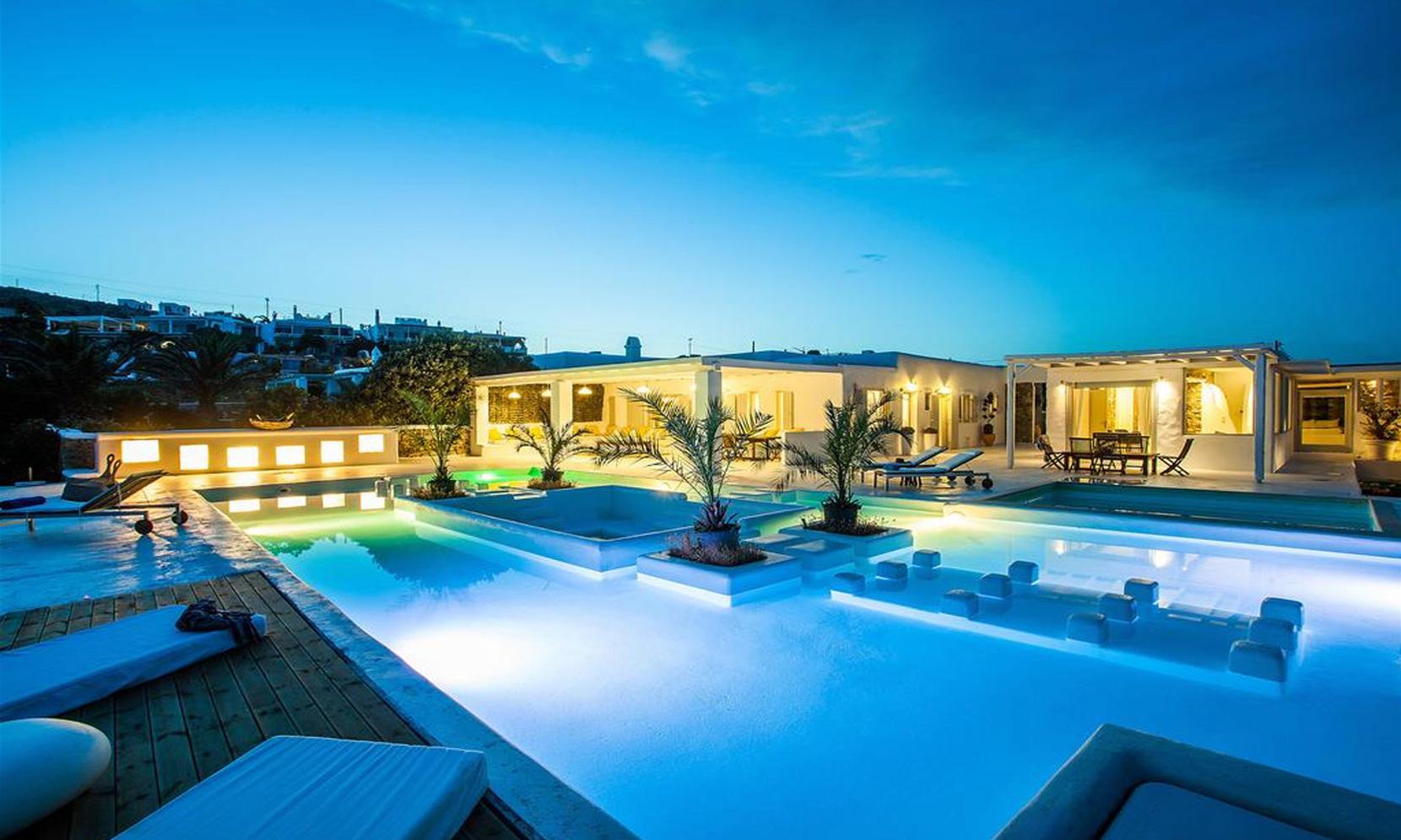 Mykonos Villa Amvrosia jumbotron image