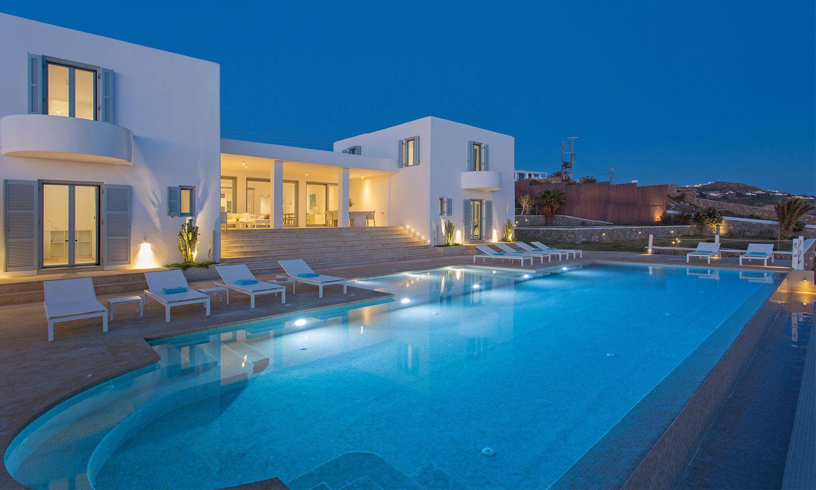 Mykonos Villa Dawn jumbotron image