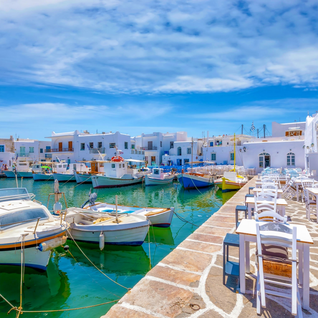 Private Cruise, Mykonos-Paros-Mykonos, Full Day