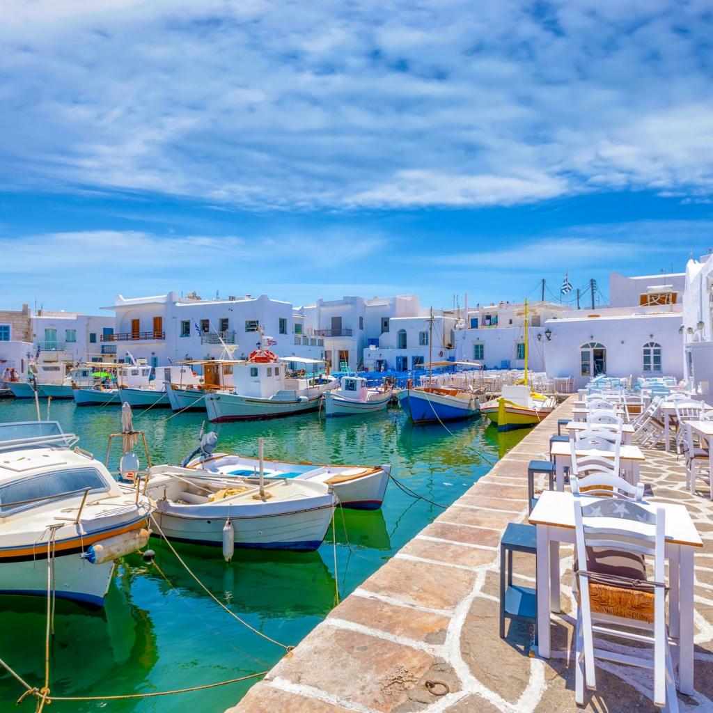 Private Cruise, Mykonos-Paros-Mykonos, Full Day