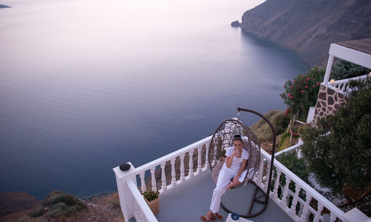 Santorini Villa Enyo Two jumbotron image