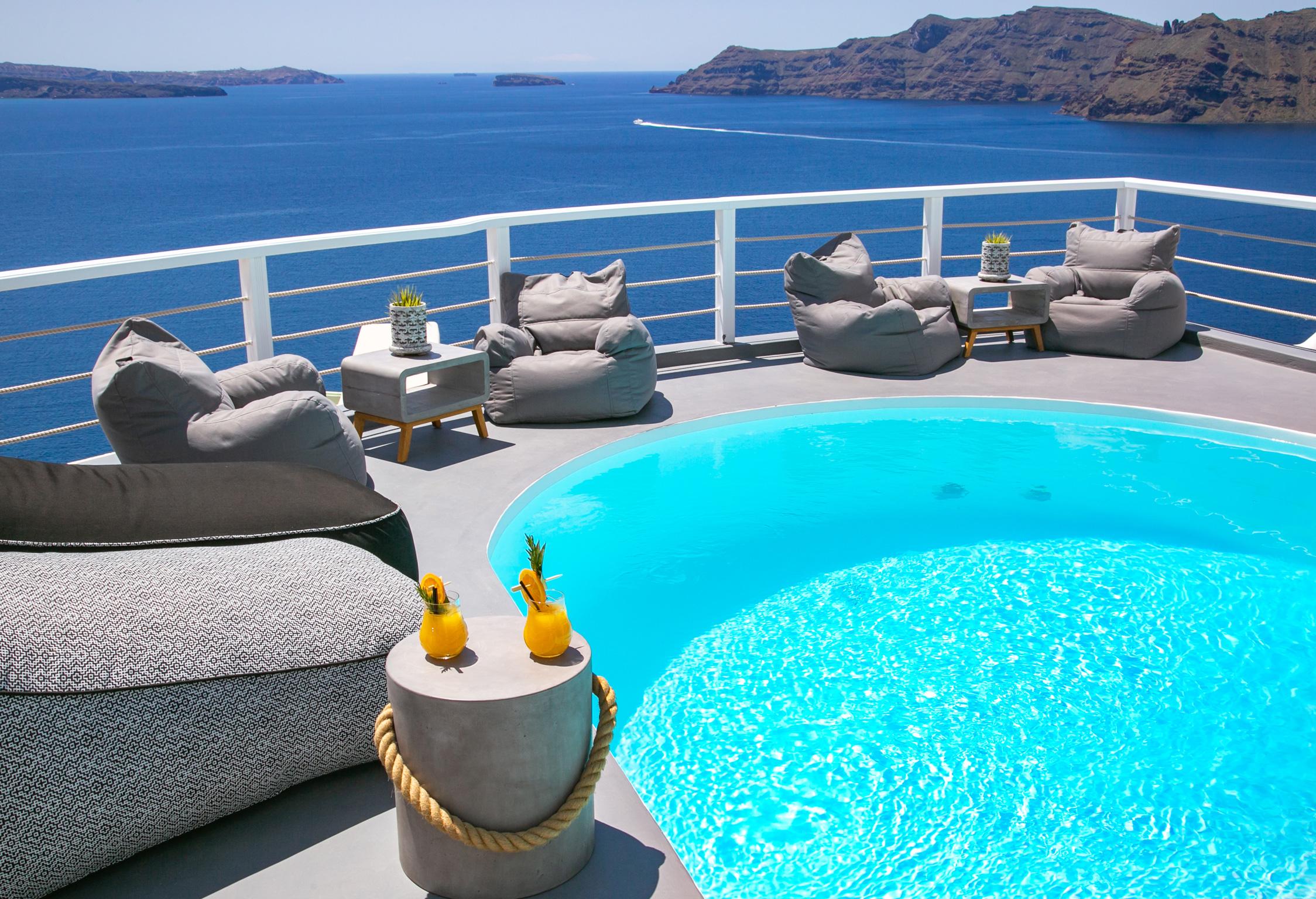 Santorini Villa Thais Nest jumbotron image