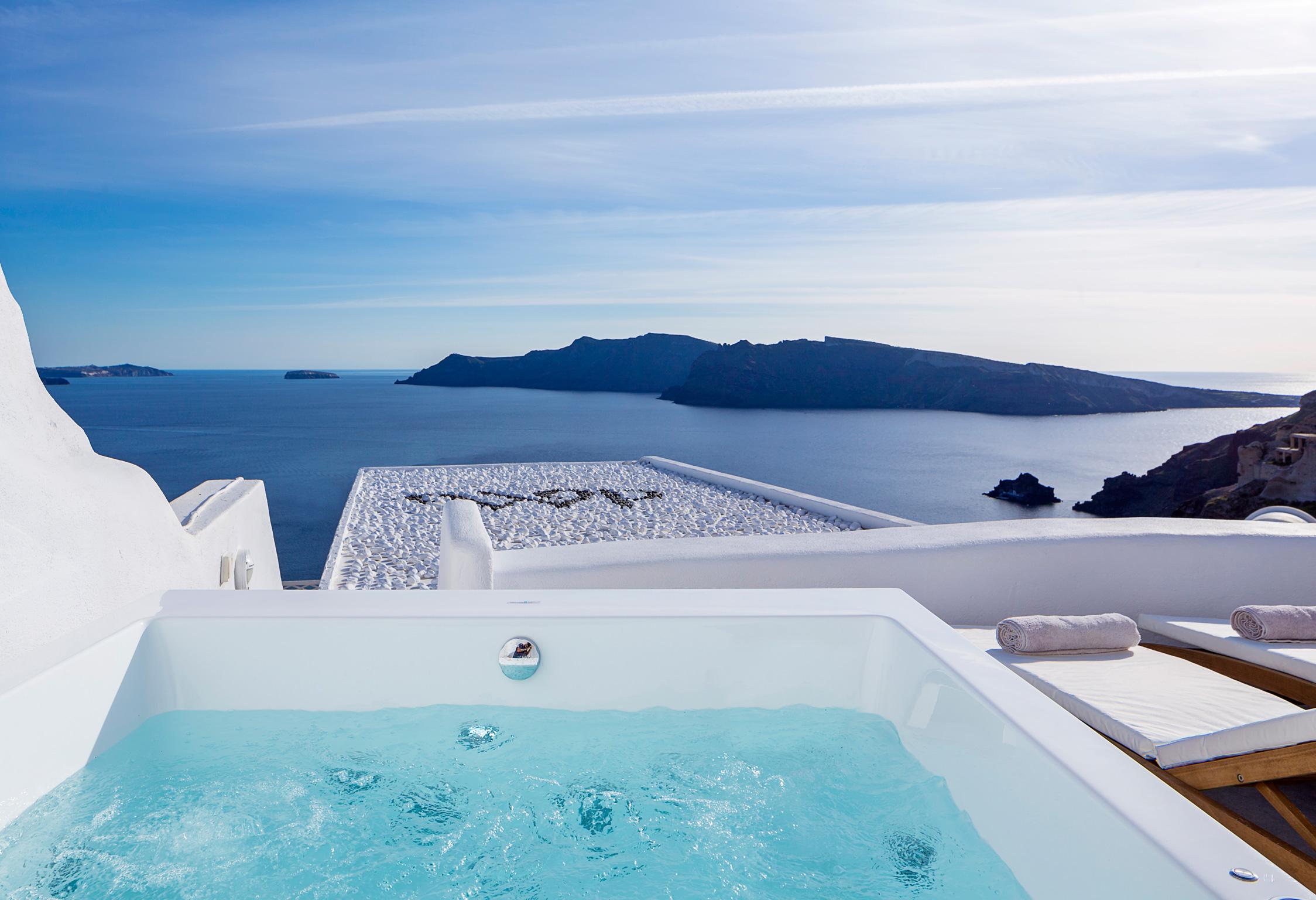 Santorini Villa Thais Aegean jumbotron image