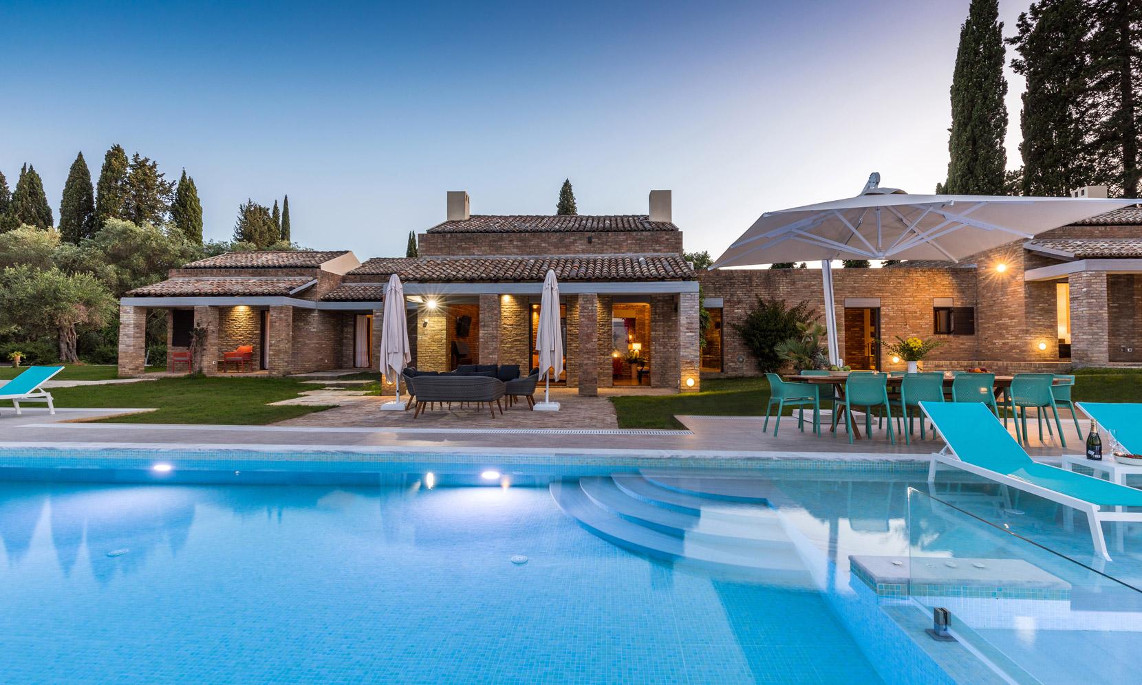 Corfu Villa Blue Water Retreat jumbotron image